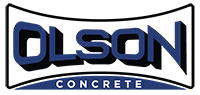 Olson concrete logo