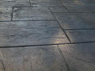 Stamped concrete pattern